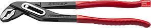 """Клещи переставные """"Мастер"""", Сr-V, высокомощный коробчатый шарнир, 250мм, ЗУБР (2242-24_z01)"""