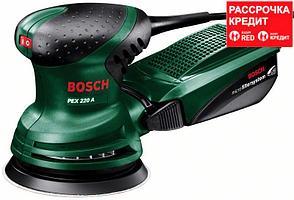 Эксцентриковая шлифмашина Bosch PEX 220 A