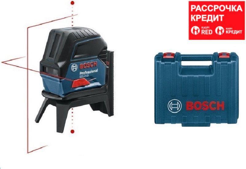 Лазерный нивелир Bosch GCL 2-15 + RM1 в кейсе