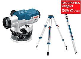 Оптический нивелир Bosch GOL 20 D + BT 160 + GR 500