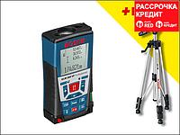 Лазерный дальномер Bosch GLM 250 VF + BT 150, фото 1