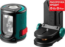 KRAFTOOL CL 20 #2 нивелир лазерный, 20м, IP54, точн. +/-0,2 мм/м, держатель (34700-2)