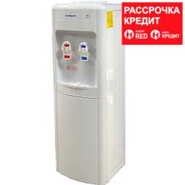 Кулер для воды Almacom WD-SHE-22CE , шкафчик, охлаждение и нагрев, белый