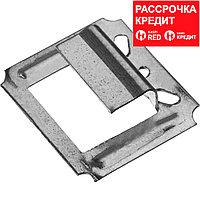 Крепеж усиленный для вагонки Кляймер-У, 7 мм, 50 шт, ЗУБР (3075-07_z01)