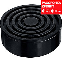 ЗУБР РШ-35 D105/H35мм опора резиновая для домкрата, Профессионал (43005-35)
