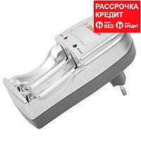 Зарядное устройство ЗУБР для никель-металлгидридных аккумуляторов, в блистере, время зарядки 6 часов, 2хААА/АА (59231-2)