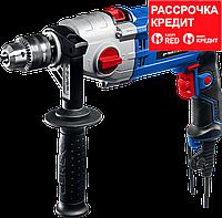 ЗУБР 850 Вт ударная 2-х скоростная дрель, серия Профессионал (ДУ-П850-2 ЭРМ)