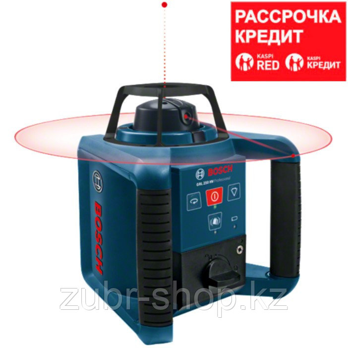 BOSCH 250 м, нивелир лазерный, ротационный GRL 250 HV (0 601 061 600)