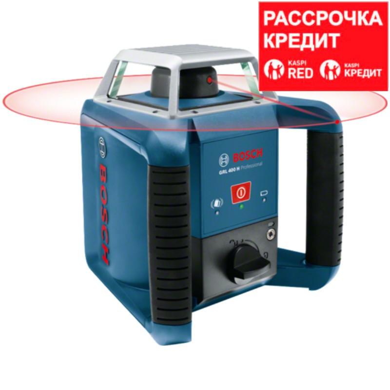 BOSCH 400 м, нивелир лазерный, ротационный GRL 400 H SET (0 601 061 800)