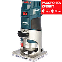 BOSCH 600 Вт, 33000 об/мин, кромочный фрезер GKF 600 L-BOXX (0 601 60A 102), кейс