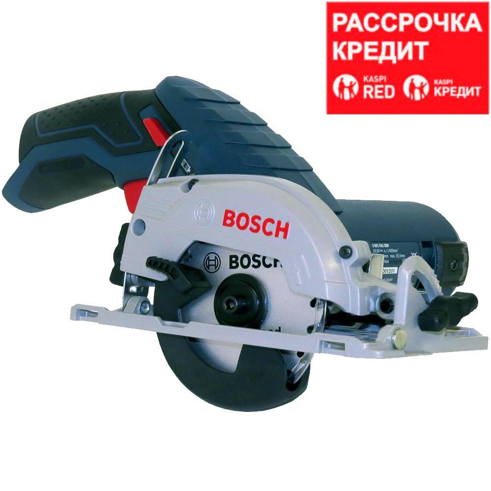 BOSCH 12 В, 1400 об/мин, 85 мм, пила дисковая аккумуляторная GKS 12V-26 (0 601 6A1 001)