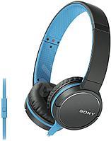 Наушники-гарнитура проводные Sony MDR-ZX660AP синий