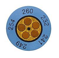 Testo Круглые необратимые термо-индикаторы 116С/138С 0646 0074