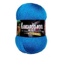 Пряжа Color City Пряжа Color City Kangaroo wool Цвет.316 Т. Бирюзовый