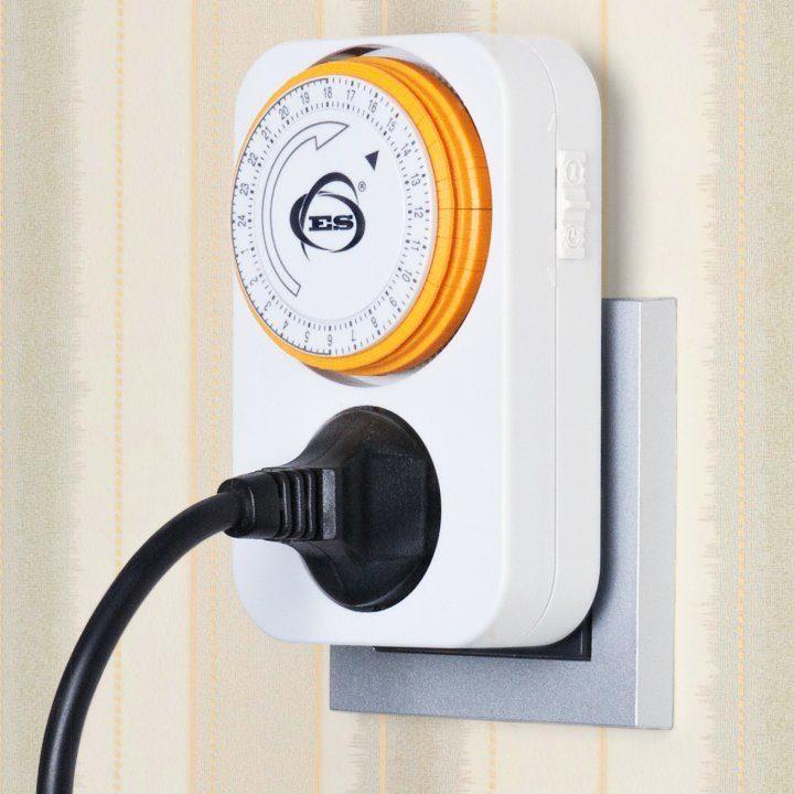 Розетка-таймер электронная - TMH-M-1 16A x1 IP20 Белый