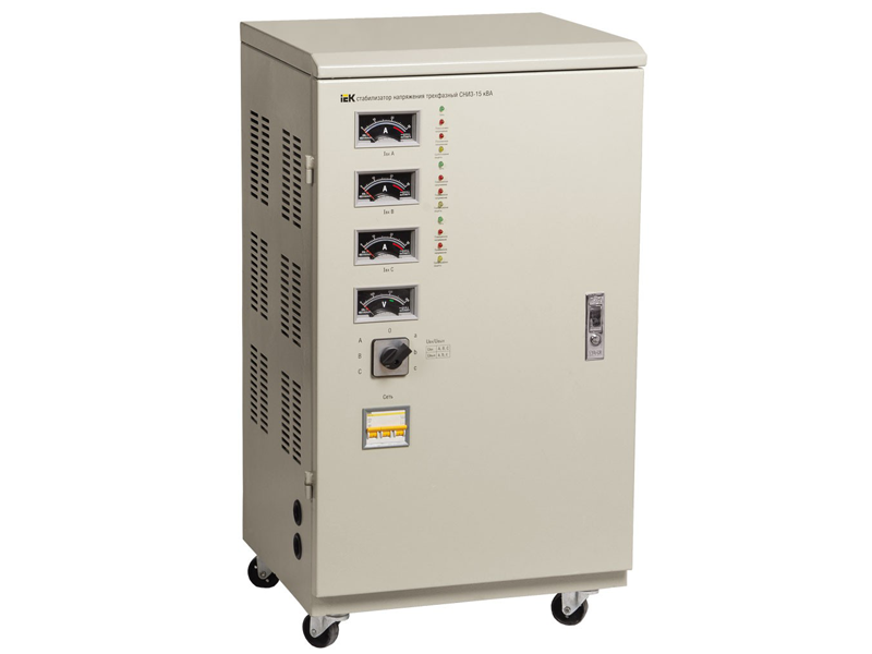 Стабилизатор напряжения CHИ 3-45 кВа трехфазный ИЭК