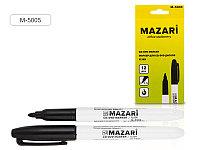 Маркер для CD/DVD 1мм Mazari M-5005-71 Flyer черный
