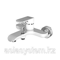 IDDIS CALSB00i02WA Смеситель для ванны, белый/хром Calipso