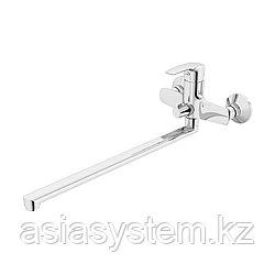 IDDIS RAYSBL2i10WA Смеситель для ванны с длинным изливом и керамическим дивертором, Ray