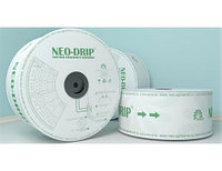 Капельная лента эмиттерная, NEO DRIP. 8mill/вылив 1,6л.ч/шаг 20см/2050м