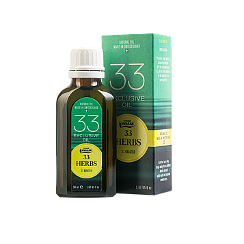 Эфирное масло 33 трав при простудных заболеваниях, головная боль, суставные заболевания