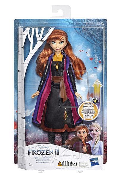 Кукла Disney Princess - Холодное сердце 2 Анна в сверкающем платье E6952/E7001