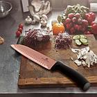 Набор ножей с магнитным держателем Berlinger Haus Metallic Line Rose Gold Edition 6 пр., фото 4