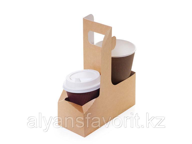 Eco Cupholder- держатель для 2-х стаканов, размер: 180*80*70 мм. РФ