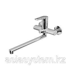 IDDIS RUNSBL2i10WA Смеситель для ванны с длинным изливом с керамическим дивертором, Runo.