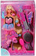 Кукла Еви и школьные принадлежности