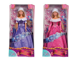 Кукла Steffi в блестящем зимнем наряде