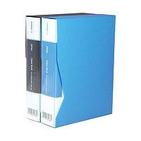 Папка c 100 файлами А4 Deli 5037 ассорти