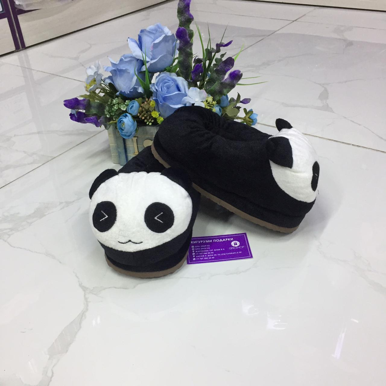 Тапки панда
