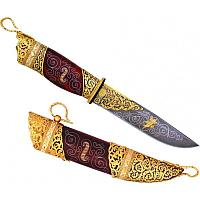 Нож «Пикник» дамаск