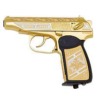 Подарочный пистолет ПМ «Макаров MP-654K», украшенный (вариант 3)