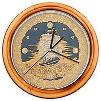 Гравюра на стали - Часы «Свежий ветер»