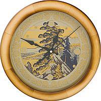 Гравюра на стали - часы «Земля Уральская»