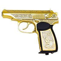 Подарочный пистолет ПМ «Макаров MP-654K», украшенный (вариант 4)