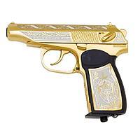 Подарочный пистолет ПМ «Макаров MP-654K», украшенный (вариант 5)