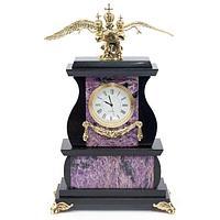 Часы «Двуглавый орел» чароит
