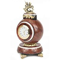 Часы «Георгий Победоносец» лемезит бронза