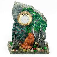 Часы «Лисица» змеевик