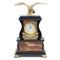 Часы «Орел» яшма