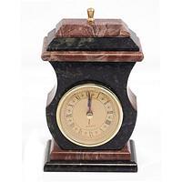 Часы со шкатулкой «Ретро» креноид змеевик