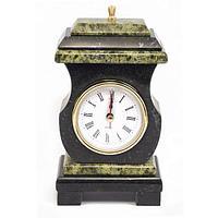 Часы со шкатулкой «Ретро» змеевик