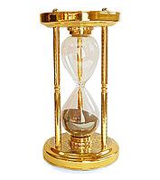 """Песочные часы """"Черный песок"""" на 15 минут"""