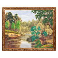 Картина «Дремучий лес», багет - 40х50 см.