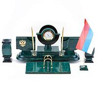 Настольный набор с символикой России, (вариант 2)