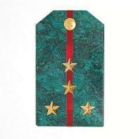 Магнит «Капитан» (вариант 2), камень змеевик