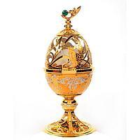 Пасхальное яйцо «Каменный цветок»